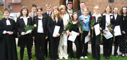 Konfirmation Christusgemeinde Wolbeck